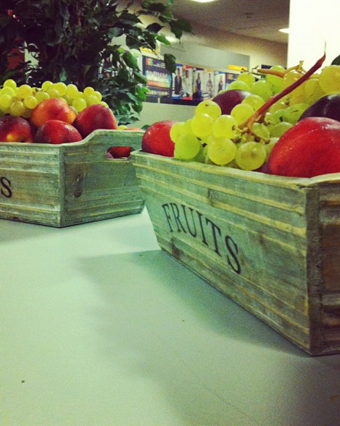 Ça C cool - Corbeille de Fruits Frais 3 variétés - Collation au Bureau  1 à 10 personnes